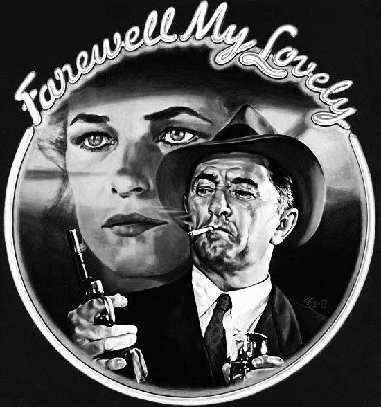 Farewell My Lovely and hardboiled, neo-noir gumshoe-ery…