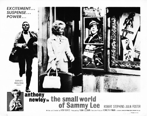 The Small World Of Sammy Lee-Anthony Newley-Julia Foster-Soho-1963-Afterhours Sleaze and Dignity-4
