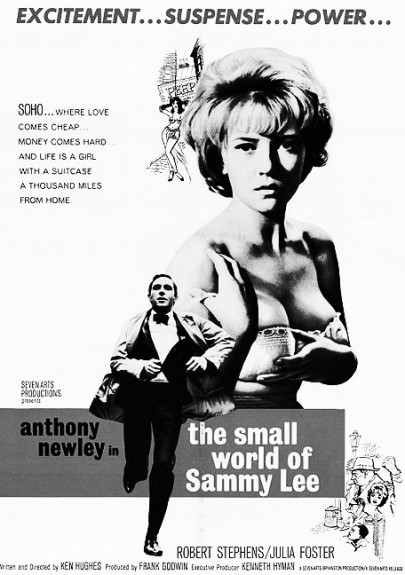 The Small World Of Sammy Lee-Anthony Newley-Julia Foster-Soho-1963-Afterhours Sleaze and Dignity