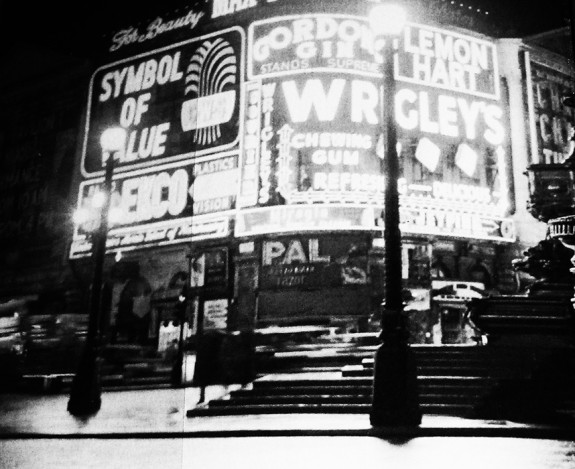 A Vision of Loveliness-Louise Levene-Picadilly Circus-West End-London-Afterhours Sleaze and Dignity