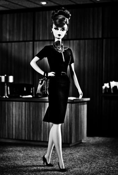 Barbie-Mad Men-Joan Harris doll