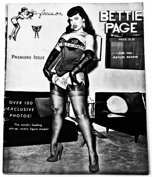 Focus On Bettie Page-cover-1080