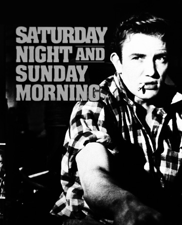 Saturday Night and Sunday Morning film dvd-Albert Finney-Alan Sillitoe