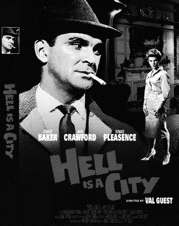 Hell Is A City-1960-Stanley Baker-British noir-Afterhours Sleaze and Dignity-DVD box