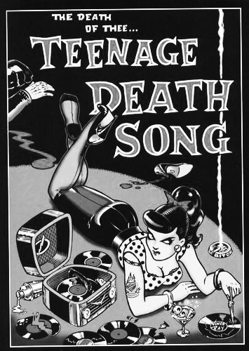 Vince Ray-The Death Of The Teenage Death Song-Afterhours Sleaze and Dignity