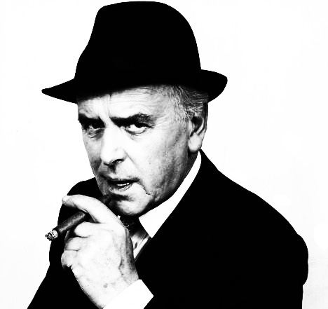 George Cole as Arthur Daley MINDER1988 THAMES TELEVISION