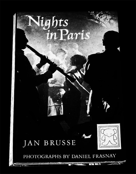 Daniel Frasnay-Jan Brusse-Nights In Paris-1958-showgirls-Les Girls-Lido-nightlife-burlesque-book cover-Afterhours Sleaze and Dignity