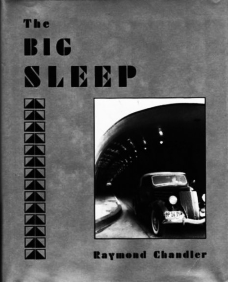 The Big Sleep-Lou Stoumen-Raymond Chandler-Hoyem-Arion Press-noir-Afterhours Sleaze and Dignity
