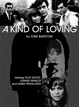 Stan Barstow-A Kind Of Loving 1982 television series-Clive Wood-Joanne Whalley-DVD cover